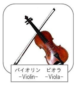 バイオリン-violin-ビオラ-viola-